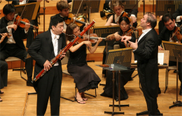 Daniel Matsukawa (bassoon) with Gergiev (PMF 2006)
