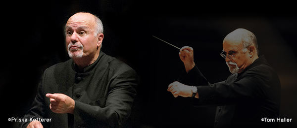 Principal Conductor David Zinman left ©Priska Ketterer/right ©Tom Haller