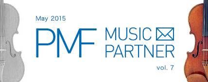 PMF MUSIC PARTNER May 2015 vol. 7