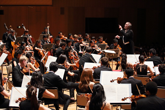 The inspirational, symphonic world created by PMF - Three programs performed by the PMF Orchestra -