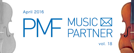 PMF MUSIC PARTNER April 2016 vol. 18