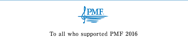 To all who supported PMF 2016