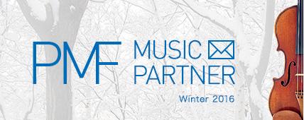 PMF MUSIC PARTNER Winter 2016