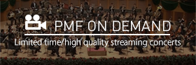 PMF ON DEMAND Limited time/high quality streaming concerts