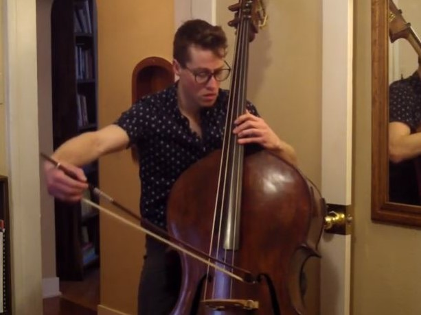 J.S. Bach: Cello Suite No. 3 in C major, BWV 1009 - Prelude (arr. for Double Bass)