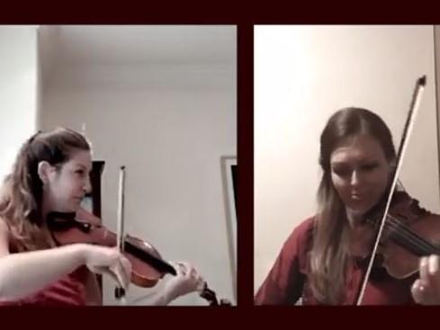 Sarasate: Zigeunerweisen, Op. 20 (arr. for 2 violins)