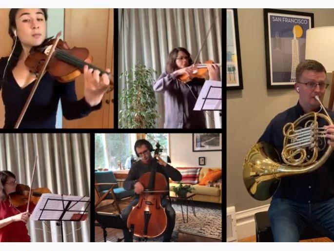 Mozart: Horn Quintet in E-flat major, K. 407 - III. Allegro