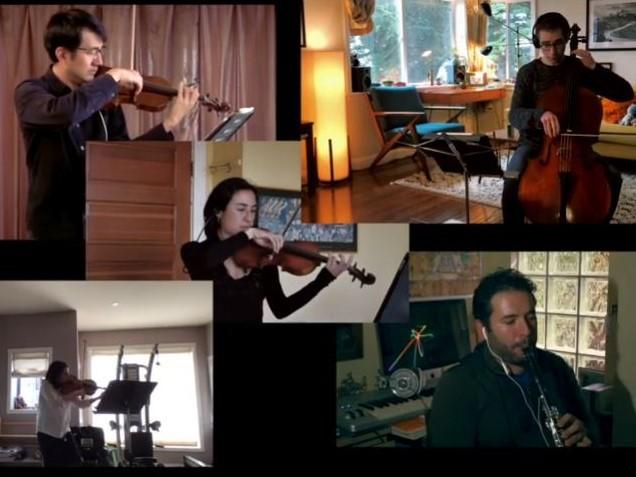 Mozart: Clarinet Quintet in A major, K. 581 - II. Larghetto (excerpt)