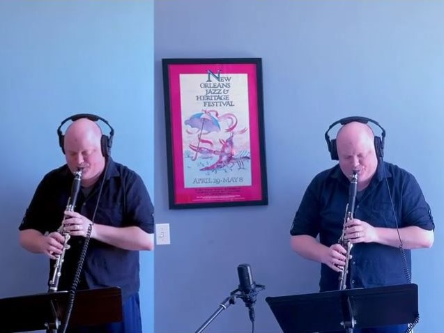 Poulenc: Sonata for 2 clarinets