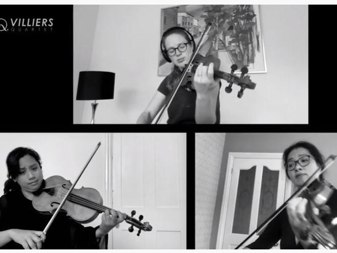 Dvořák: Miniatures for 2 Violins & Viola, Op. 75a - I. Cavatina