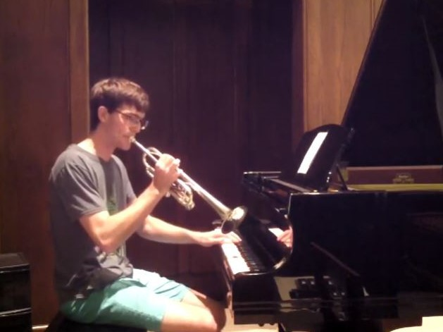 Rimsky-Korsakov: Flight of the Bumblebee (on trumpet and piano)