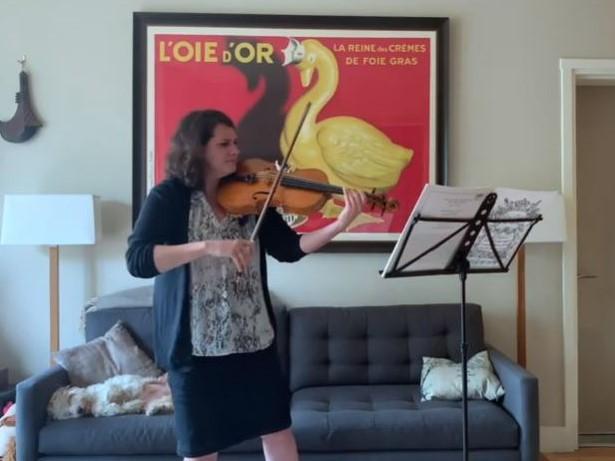 Telemann: Fantasia for solo violin No. 1, TWV 40:14 (arr. for viola)