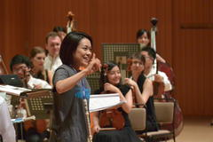 Kanae Kushima, MC/soprano *PMF 2014