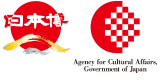 Supported by the Agency for Cultural Affairs, Government of Japan in the fiscal 2019