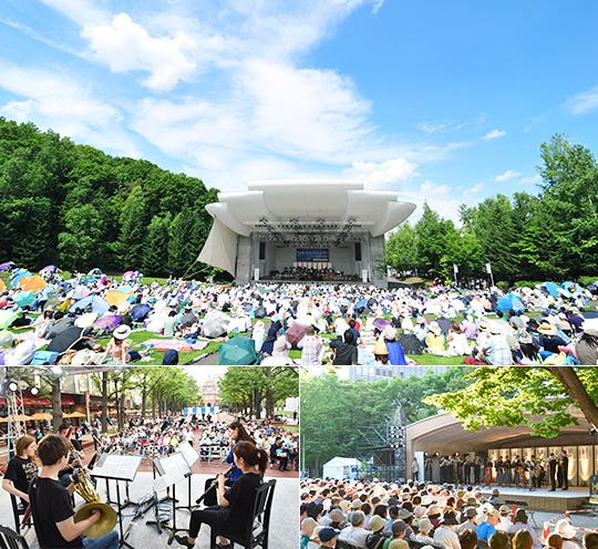 PMF2017野外コンサート