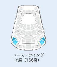 ユース・ウイング Y席(166席)