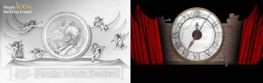 バーンスタイン大雪像とステージイベントのイメージ