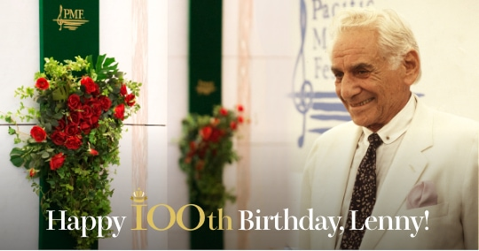 Happy 100th Birthday, Lenny!