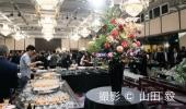 ウェルカムパーティーの様子 撮影 © 山田 毅