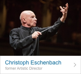 Christoph Eschenbach, former Artistic Director