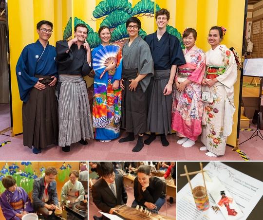 写真:日本文化を体験するアカデミー生
