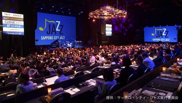 写真:THEATER JAZZ LIVEの様子/提供:サッポロ・シティ・ジャズ実行委員会