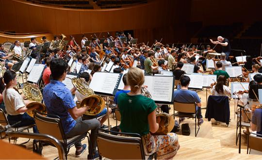 写真:クラシックの未来を担うPMFアカデミー生たち