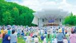 写真:札幌芸術の森・野外ステージの風景
