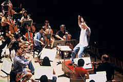 Rehearsal, Charles Dutoit (Cond.)