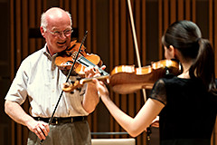 Rainer Küchl Open Violin Lessons