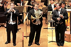 Mark J. Inouye, trumpet / William Caballero, horn / Stephen Williamson, clarinet (PMF AMERICA)