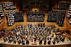 Mahler's Symphony No. 8, with nearly 600 performers