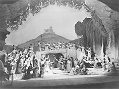 The final scene of the opera