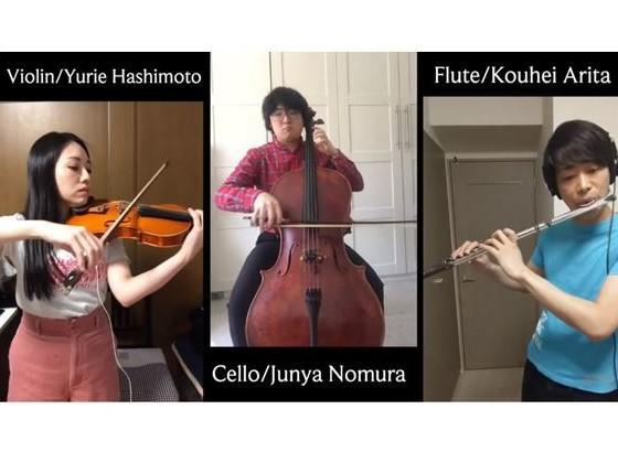 ハイドン:ロンドン・トリオ 第1番 ハ長調から 第1楽章 Allegro moderato