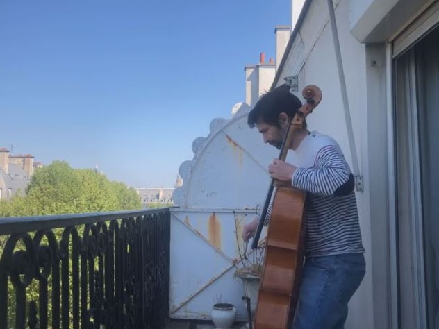 J. S. バッハ:無伴奏チェロ組曲 第5番 ハ短調 BWV 1011から Sarabande