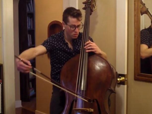 J. S. バッハ:無伴奏チェロ組曲 第3番 ハ長調 BWV 1009(コントラバス版)から Prelude