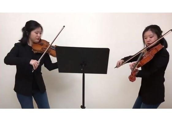 R. フックス:ヴァイオリンとヴィオラのための12の二重奏曲 作品60から II. In ruhiger Anmuth