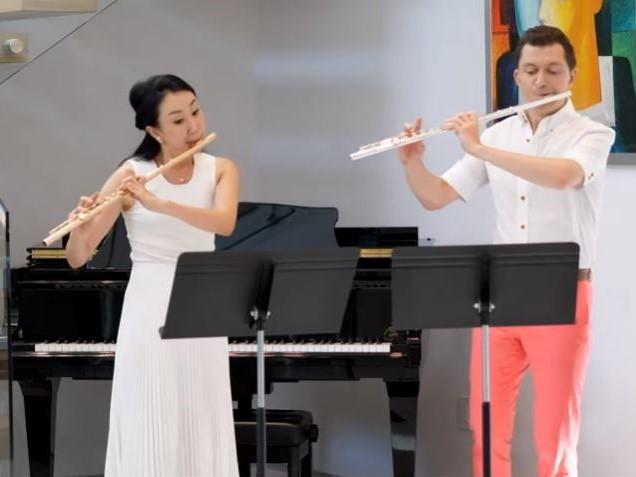 A. ロンベルグ:3つのフルート二重奏曲 作品62 から 第3番