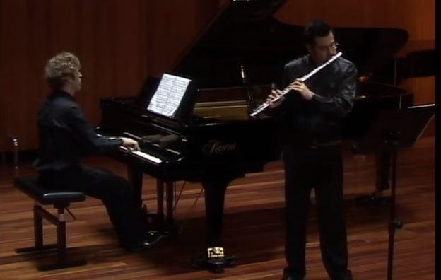 R. シュトラウス:ヴァイオリン・ソナタ 変ホ長調 作品18(フルート版)から第2楽章 即興曲