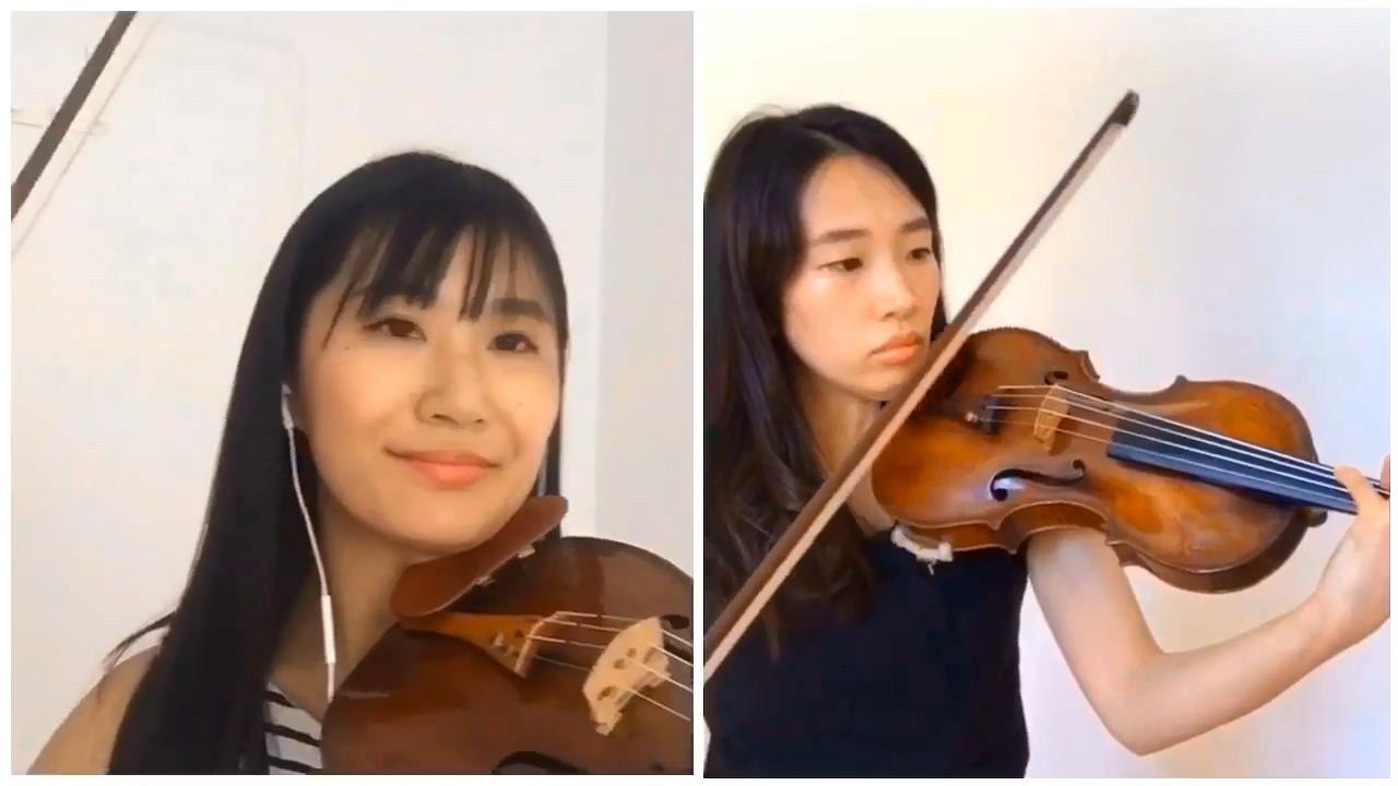 ヴィオッティ:2台のヴァイオリンのためのセレナード 作品23 第2番から Andante, Più tosto Allegro