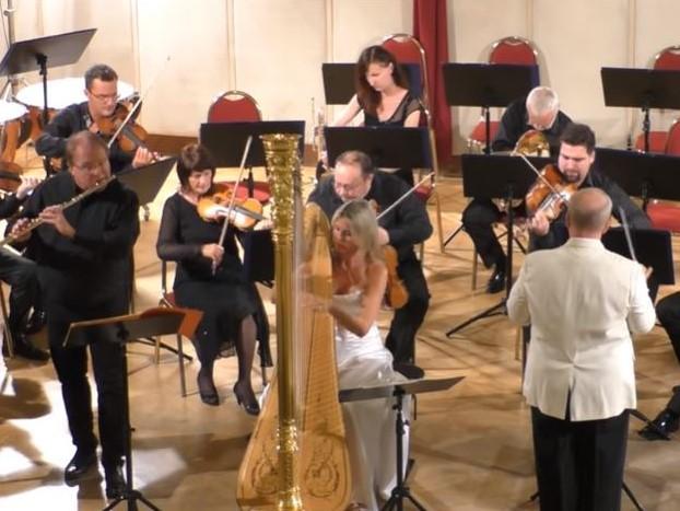 モーツァルト:フルートとハープのための協奏曲 K. 299 から I. Allegro