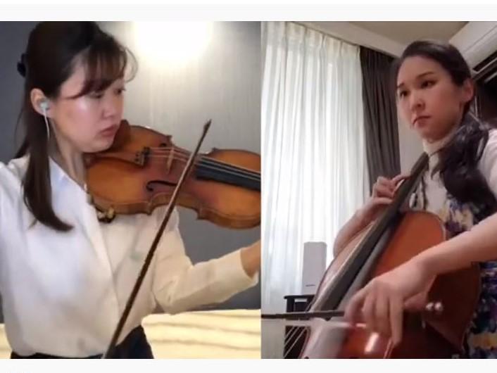 グリエール:ヴァイオリンとチェロのための8つの小品 作品39から