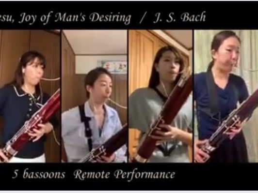 J. S. バッハ (Y. Mizumura編):『心と口と行いと生活で BWV 147』から「主よ、人の望みの喜びよ」
