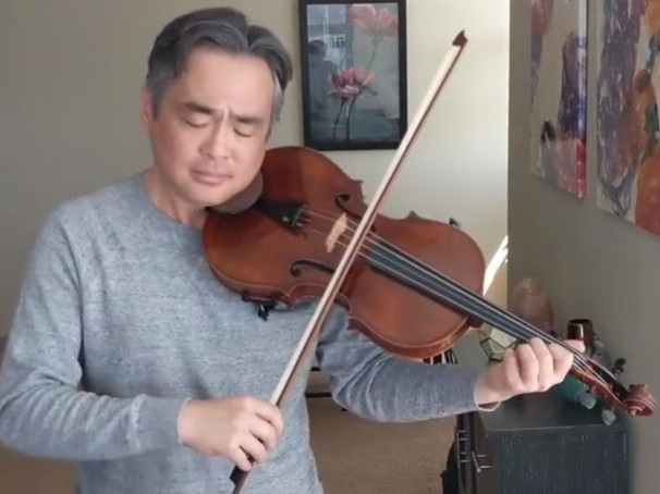 J. S. バッハ:無伴奏チェロ組曲 第1番 ト長調 BWV 1007(ヴィオラ版)から Sarabande