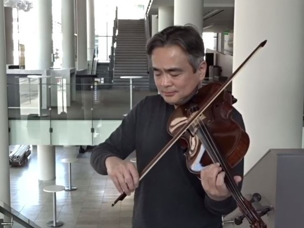 J. S. バッハ:無伴奏チェロ組曲 第2番 ニ短調 BWV 1008(ヴィオラ版)から Prelude