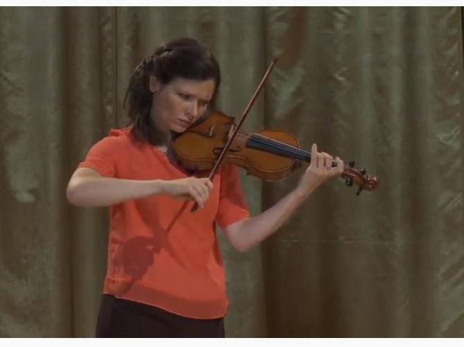J. S. バッハ:無伴奏ヴァイオリン・ソナタ 第2番 イ短調 BWV 1003から Grave