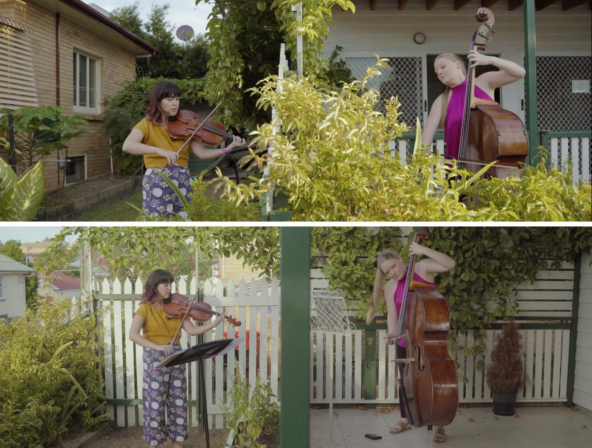 ディッタースドルフ:ヴィオラとコントラバスのための二重奏曲から