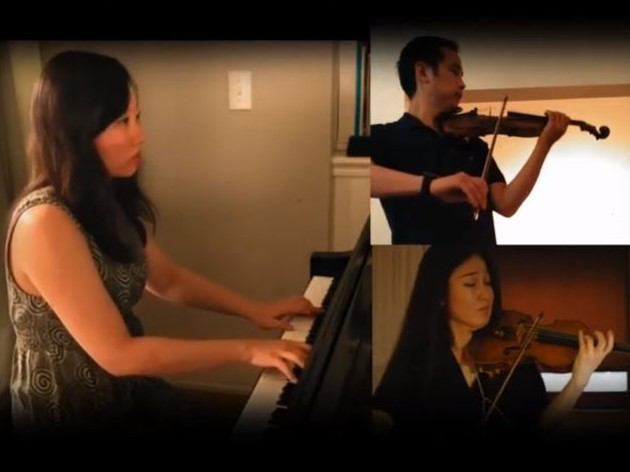 ショスタコーヴィチ:2台のヴァイオリンとピアノのための5つの小品から I. Prelude