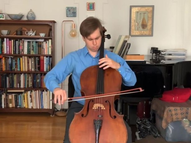 R. エスメイル:Perhaps... & J.S. バッハ:無伴奏チェロ組曲 第4番 変ホ長調 BWV 1010