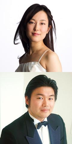 藤井玲南(ソプラノ)©井村重人/松原友(テノール)